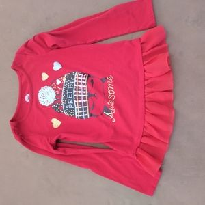 Garanimals girls red top. Size 6